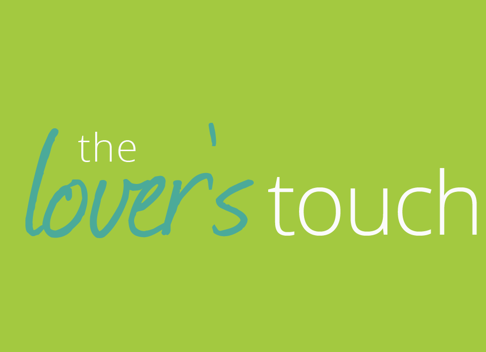 the lover's touch logo design