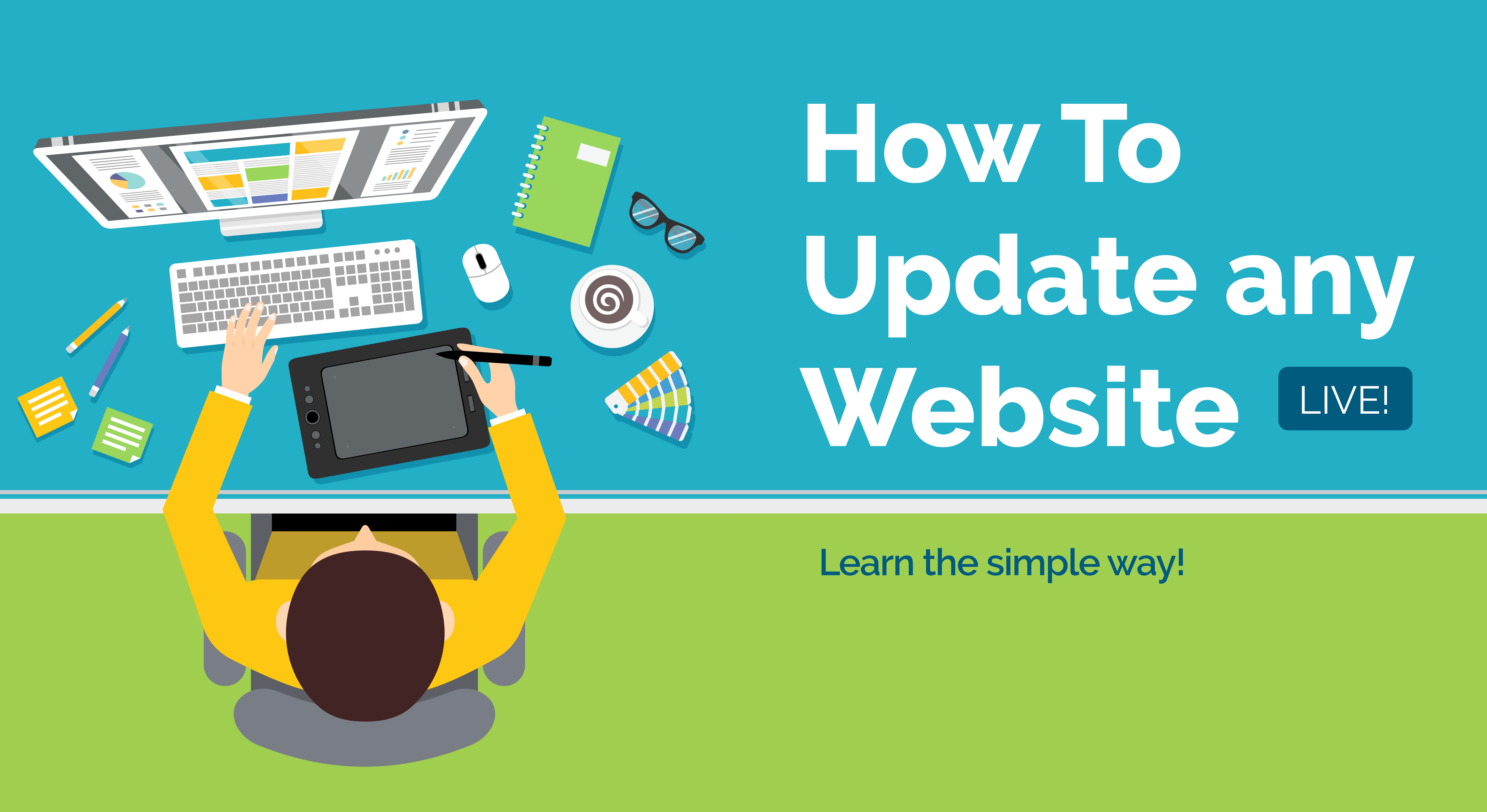 how to update your website cover