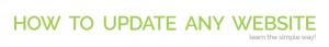 how to update your website logo