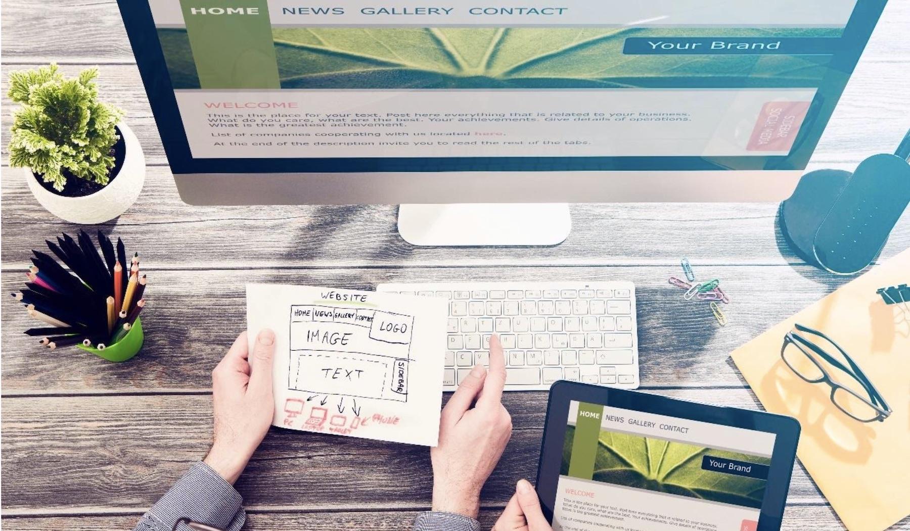 web design how to build website