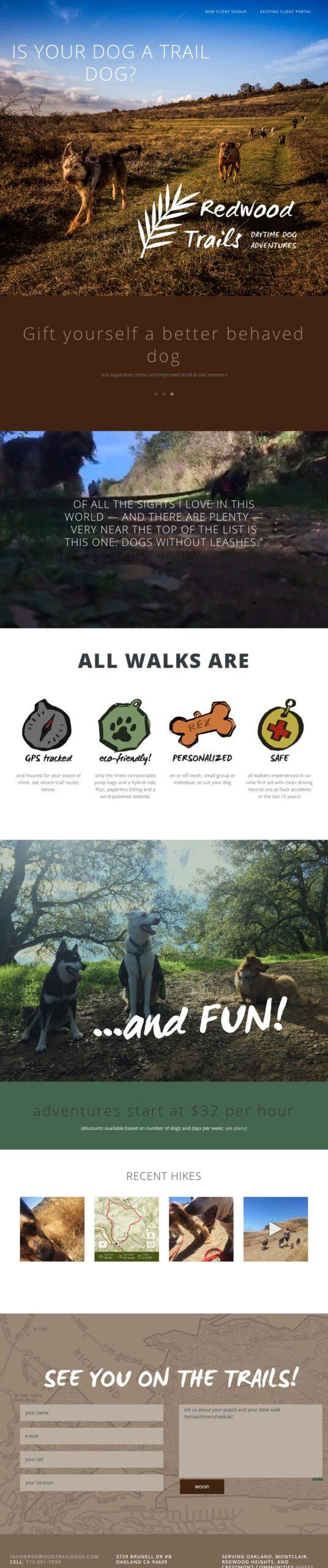 webdesign redwoodtraildogs scaled