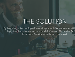 bay area web design squarepace insurance