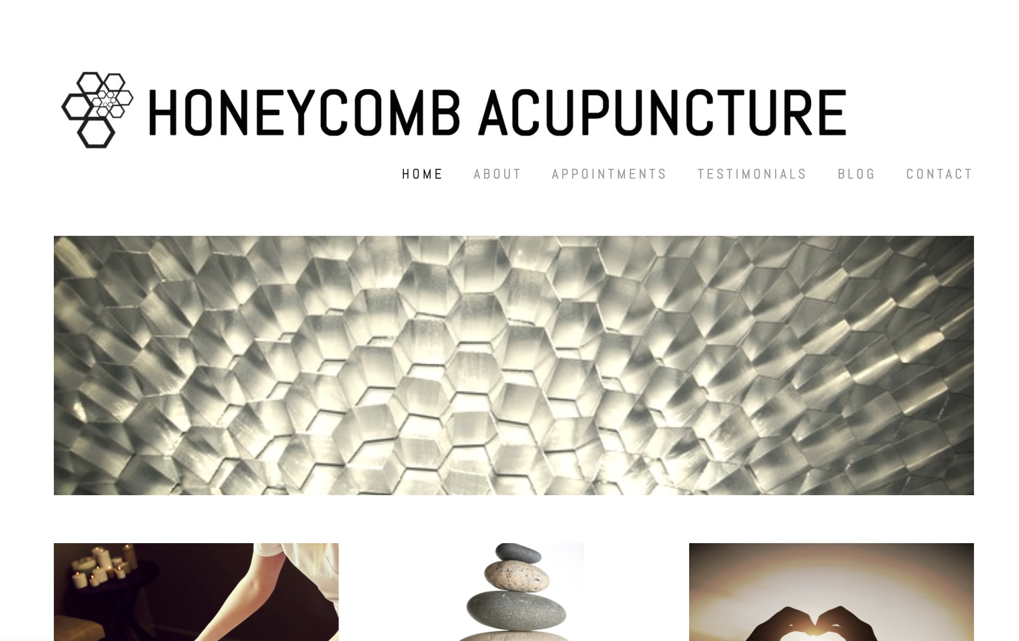 acupuncture website design berkeley