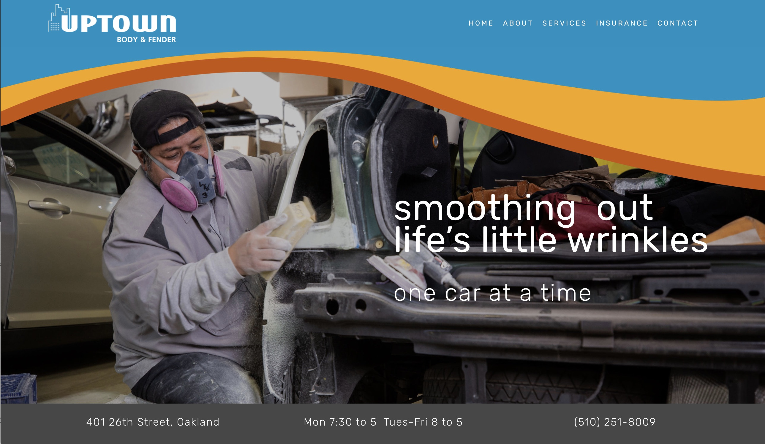 body shop web design oakland best