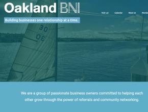 oakland bni web design