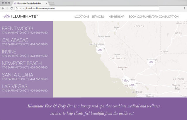 spa web design bay area