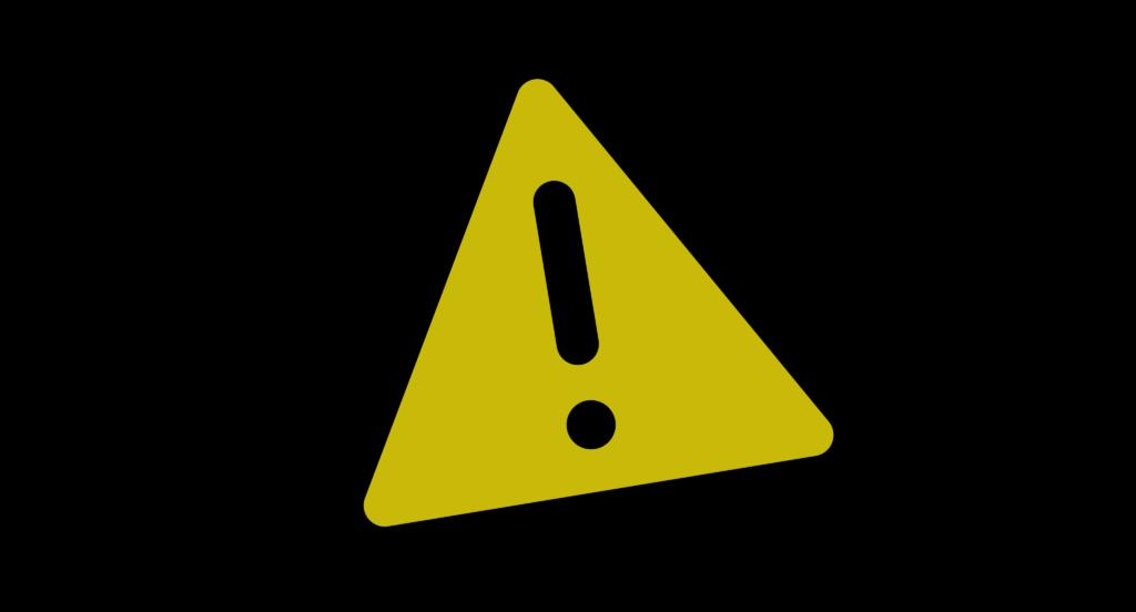 godaddy logo warning